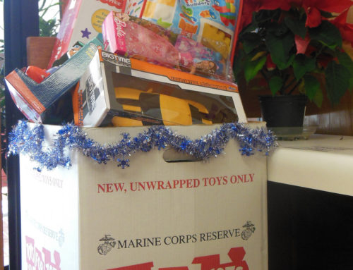 Toys for Tots – Drop off location!